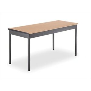 Ofm Utility Table 24 X 60 Maple