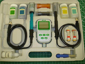 Lab Safety Supply 33y923 Ph Conductivity Meter Dissolved Oxygen Meter