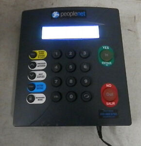 Peoplenet Lt 1000 Employee Time Clock
