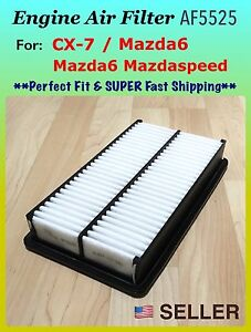 Engine Air Filter For Mazda 6 3 0l Only And Mazdaspeed6 06 08 Turbo Engine