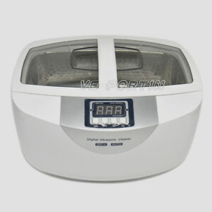 Digital Ultrasonic Cleaner Cd 4820 Heater Jewelry 2 5l Us uk au eu Adapter Plug