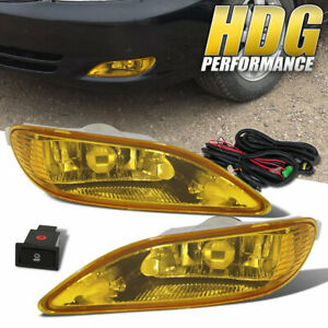 Yellow Lens Jdm Front Bumper Oem Fog Light Yellow 2005 2008 For Toyota Corolla