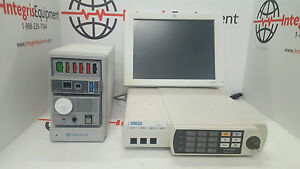 Ge Solar 8000m Anesthesia Monitor With Tram Rac 4a Sam Module Biomed Tested