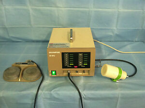 Olympus Hpu heat Probe Unit With Footswitch mb 466