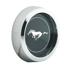 Mustang Wheel Cap Magnum 500 Legendary Wheel Black W Horse 1965 1973