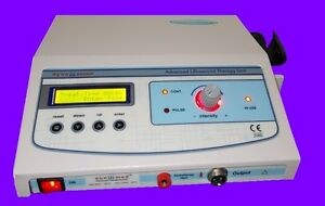 Ultrasound Therapy Machine Ultrasonic 1mhz For Pain Relief Lcd Programmed Unit
