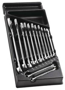 Facom Tools 13 Pce Combination Spanner Wrench Set 1 4 15 16 Af Imperial