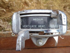 1949 1950 Ford Coupe Sedan Heater Control