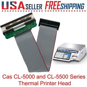 Cas Cl 5000 Thermal Print Head acl1 Brand New
