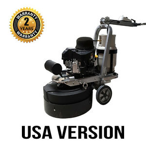 Asl T8 Propane Concrete Grinding Polishing Machine Usa Version