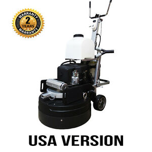 Asl T9 Propane Concrete Grinding Polishing Machine Usa Version