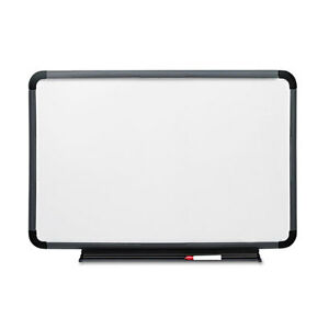 Iceberg Ingenuity Dry Erase Board Resin Frame With Tray 66 X 42 Charcoal