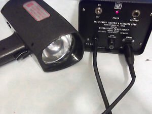 Pioneer Stroboscope Model Ds 303 Complete Set Free Shipping
