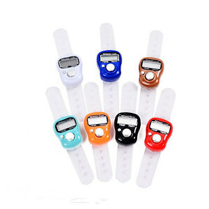 Stitch Marker Row Counter Finger Lcd Electronic Hand Ring Digit Tally Counter