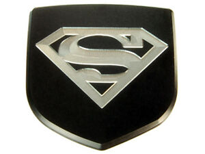 New Dodge Charger Custom Front Emblem Badge Black Superman