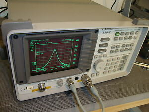 Hp Agilent 8591e Spectrum Analyzer With Tracking Generator Pick Your Options