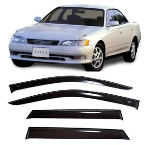 For Toyota Mark Ii X90 1992 1996 Side Window Visors Rain Guard Vent Deflectors