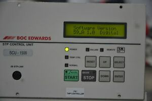 Boc Edwards Scu 1500 Turbo Pump Controller