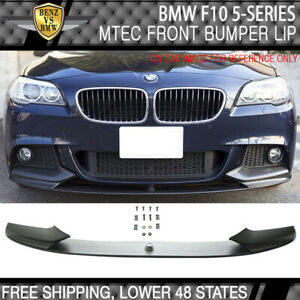 Fit 11 16 F10 5 Series M performance Style Front Lip Spoiler polypropylene pp