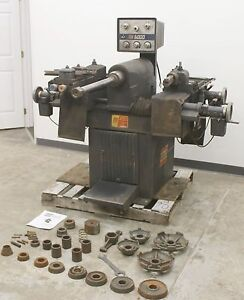 Ammco Super 6 Heavy Duty Truck Disc Drum Brake Lathe With Adapters 6000 5000 5