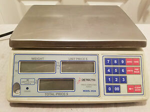 Detecto Price Computing Scale 30 Lb X 0 01 Lb