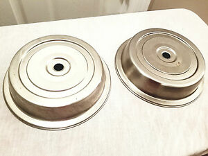 Lot Of 2 Plate Food Covers