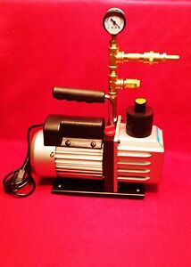 Milking Machine Milker Vacuum Pump With Brass Pressure Regulator Assembly