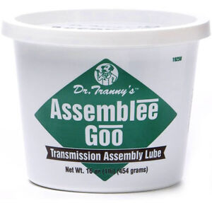 Lubegard Dr Tranny Green Assemblee Goo Transmission Assembly Lube