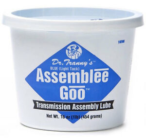 Lubegard Dr Tranny Blue Assemblee Goo Transmission Assembly Lube