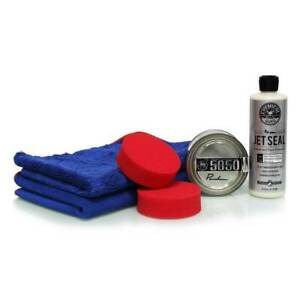 Chemical Guys Jetseal 5050 Paste Wax Shine Protection Kit 6 Items