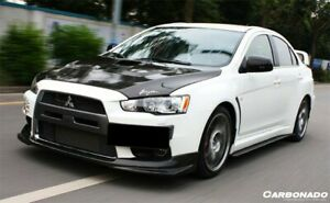 2008 2015 Mitsubishi Lancer Evolution 10 Evo10 Carbon Fiber Bs Style Front Lip