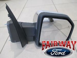 15 Thru 17 F 150 Oem Ford Heat Signal Power Fold Blis Mem Chrome Rh Pass Mirror