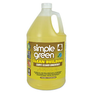 Simple Green Clean Building Carpet Cleaner Concentrate Unscented 1gal Bottle