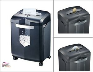 Cross Cut Paper Shredder 18 Sheet 6 Gal Wastebasket Office Supplies Commercial