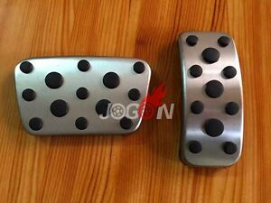 2pcs No Drilling Gas Brake Foot Pedal Cover At For Lexus Ct200h 2008 2015
