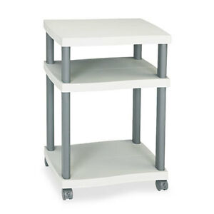 Safco Wave Design Printer Stand Three shelf 20w X 17 1 2d X 29 1 4h