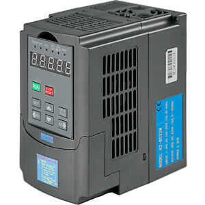 New 2 2kw 3hp Vfd 10a 220v Single Phase Variable Speed Drive Vsd Drive Inverter