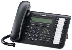 Panasonic Kx dt543 Phone Black Digital 3 line Lcd With Backlight 24 Co Key