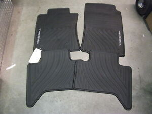 2008 2010 Toyota Tacoma Double Cab All Weather Floor Mats Pt908 35002 02