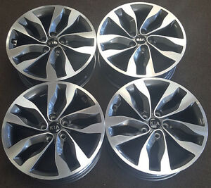 18 Kia Optima Factory Oem Alloy Wheels Rims 18x7 1 2 2014 2015