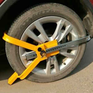 Wheel Lock Tire Trailer Auto Car Truck Anti theft Security 16 Lock Positions
