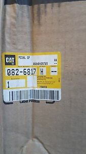 New Caterpillar Pedal Gp 082 6817 0826817 Made In France