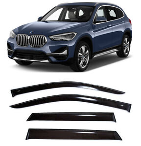 For Bmw X1 F48 2015 Window Visors Side Sun Rain Guard Vent Deflectors