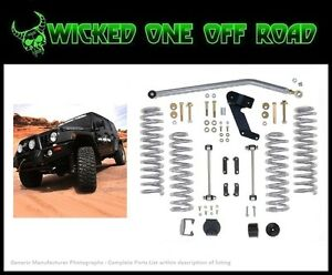 Rubicon Express 3 5 Inch Lift Kit For 07 17 Jeep Jk Wrangler 2 Dr