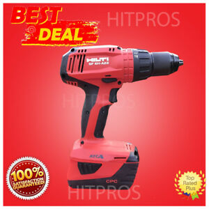 Hilti Sf 6h a22 Cordless Hammer Drill Driver 2 Batteries New Model Fast Ship