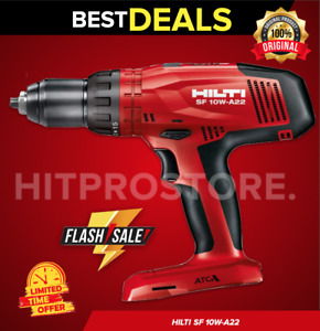Hilti Sf 10w a22 Atc Cordless Drill Driver New Model Bare Tool Only Fast Ship