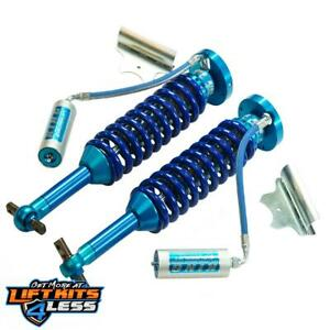 Superlift 3506 8 King Coilover Shocks Front 07 18 Gm Silverado Sierra 1500 4wd