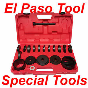 23 Pc Master Set Front Wheel Hub Drive Bearing Removal Install Service Tool Kit