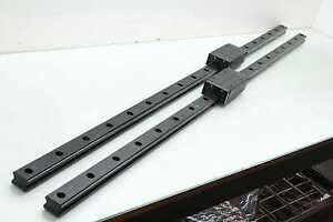 2 Thk Shs35 Linear Motion Guide Rails Linear Bearings 2 Blocks 1480mm Long Ap c