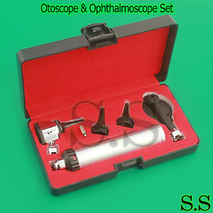 Otoscope Ophthalmoscope Set Ent Medical Diagnostic Wholesale Lot Of 25 Sets